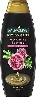 Palmolive Luminous Oils Shampoo Rose Petal Oil & Bamboo Restore & Renew, 350 milliliters