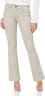 Wrangler Women's Moleskin Bootcut Jean, Chamois