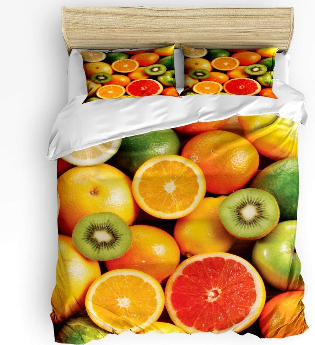 HELLOWINK Duvet Cover 3 Sales Piece Bedding Kitchen Size Set Queen Finally resale start Co