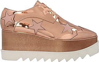 Luxury Fashion | Stella Mccartney Women 363998W0ZR58266 Pink Polyester Wedges | Season Permanent