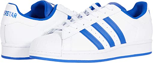 Footwear White/Bold Blue/Clear Granite