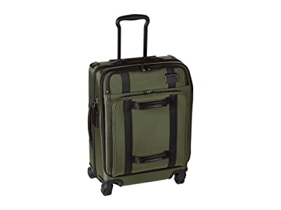 Tumi Merge Continental Front Lid 4 Wheel Carry-On (Forest) Wallet