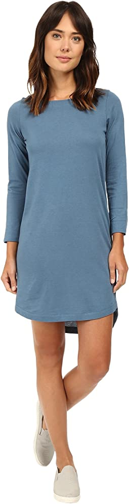 East Side Long Sleeve Cotton Modal Dress