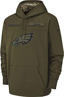 Nike Men's Philadelphia Eagles Therma Fit Pullover STS Hoodie