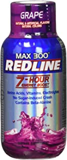 VPX Redline Power Rush 7-Hour Energy Max 300 Shot Supplement, Grape, 2.5 Ounce (Pack of 12)