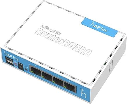 Mikrotik hAP lite Internal White WLAN access point - WLAN access points (10,100 Mbit/s, 32 MB, QCA9531 650MHz, 1.5 dBi, 3 W, White) - Confronta prezzi
