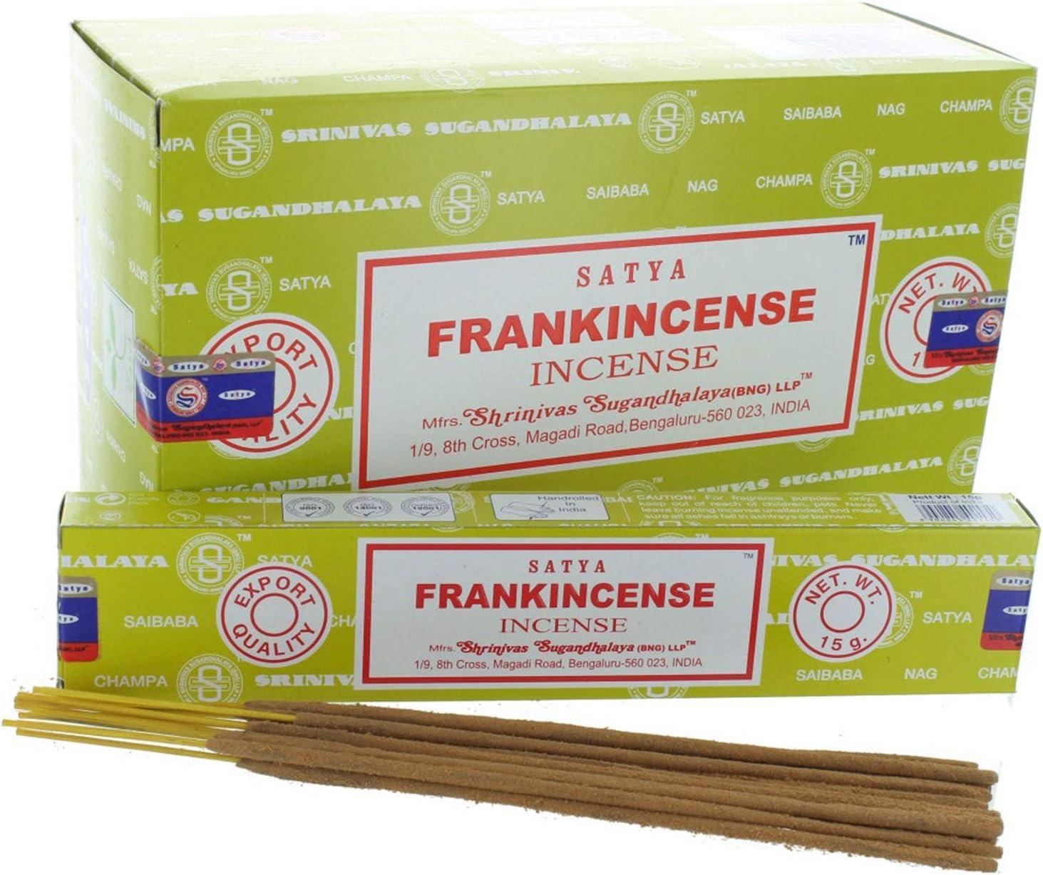 Satya Sai Baba Nag Champa - Frankincense Incense Stick Box - Pac