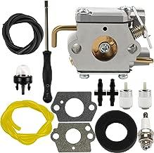 Dalom 791-182875 Carburetor w Air Filter Fuel Line for Bolens BL150 BL100 BL250 Trimmer Yard Man Machines YM20CS YM1000 YM1500 YM320BV YM400 YM70SS 2800m Y28 Y725 Y780 Weed Eater Brushcutter