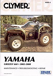 Best yamaha grizzly 700 manual service Reviews