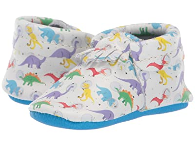 Freshly Picked Soft Sole City Moccasins Out of This World (Infant/Toddler) (Space Dinos) Boy