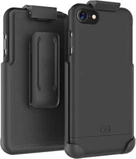 Encased iPhone 7 Belt Case, (SlimShield Series) Protective Grip Case with Holster Clip for Apple iPhone 7 4.7