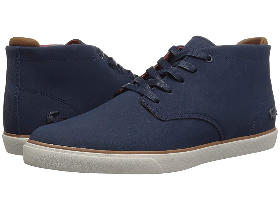Lacoste Esparre Chukka 318 1 (Navy/Brown) Men