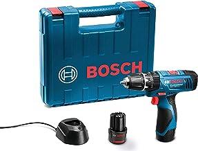 Bosch GSB 120LI Plastic Cordless Impact Drill Kit (Blue)