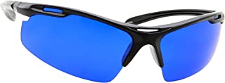 Golf Ball Finder Locating Glasses - Sports Style Blue Lens Sunglasses for Men