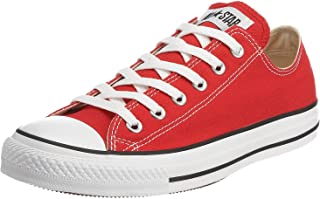 Converse Unisex Chuck Taylor All Star Ox Low Top Classic Red Sneakers - 4 D(M) US