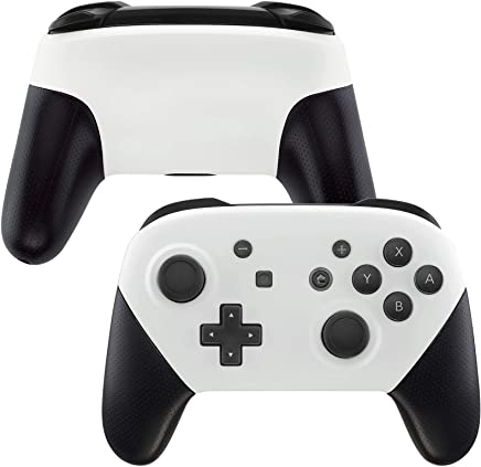 eXtremeRate Soft Touch Faceplate and Backplate for NS Switch Pro Controller, DIY Replacement Shell Housing Case for NS Switch Pro - Controller NOT Included