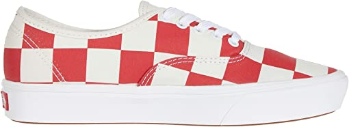 (Half Big Checker) Black/Red
