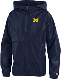 NCAA Youth Water Resistant Lightweight Packable Jacket