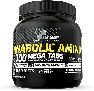 Olimp Sport Nutrition Cápsulas de Aminoácidos Anabolic Amino 9000 Mega - 300 unidades (28364)