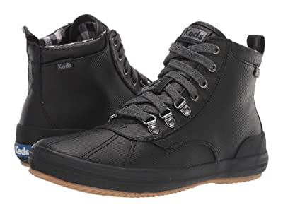 Keds Scout Boot II Matte Twill WX (Black Splash Twill) Women