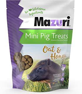 Mazuri Mini Pig Treats – Oat & Honey, 6 lb.