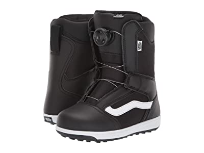 Vans Juvie Linerless (Little Kid/Big Kid) (Black/White) Boots