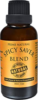 Spicy Saver Essential Oil Blend 30ml - Healthy Immunity Protective Blend Natural Pure and Undiluted Therapeutic Grade for Aromatherapy, Scents & Diffuser Sinus, Dry Nose, Allergy Respiratory Problems