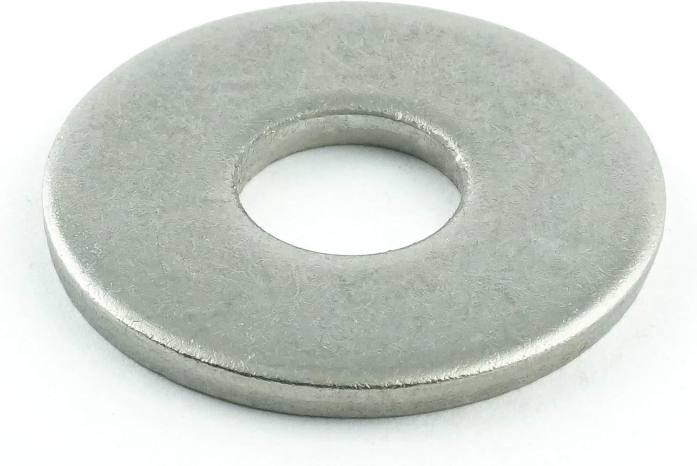 Eisenwaren2000 40 St/ück Edelstahl A2 V2A ISO 4161 M3 Selbstsichernde Muttern mit Flansch rostfrei - Flanschmuttern mit Sperrverzahnung DIN 6923