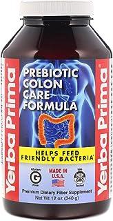 Yerba Prima Prebiotic Colon Care Formula Powder, 12 Ounce - Fiber Supplement