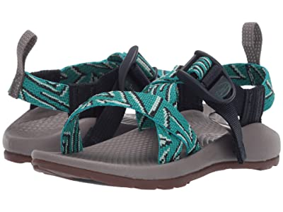 Chaco Kids Z1 Ecotread (Toddler/Little Kid/Big Kid) (Zinzang Teal) Kids Shoes