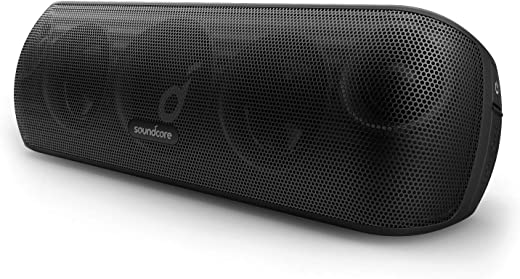 Soundcore Motion+ Bluetooth Speaker with Hi-Res 30W Audio, BassUp, Extended Bass and...