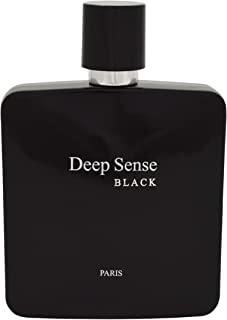 Prime Collection Deep Sense Black Eau de Parfum for men, 3.4 Ounce