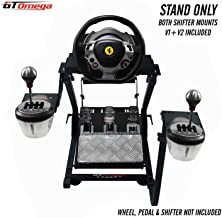 GT Omega Steering Wheel Stand PRO for Thrustmaster T150 Force  Racing Wheel PS4 & Pedals, Supporting TX, Xbox, Fanatec - F...