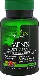 Puremark Naturals Men's Multivitamins, 60 Tablets (Pack of 2)