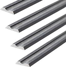 4 stuks HM draaimessen / schaafmessen voor Black & Decker B&D 82mm / KW710 / BD715 /