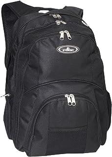 (Black) - Everest 7045LT-BK 17 in. Laptop Backpack