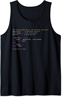 Programming Syntax Python Code Computer Geek Codeing gift Tank Top