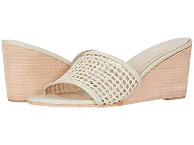 KAANAS Pipa Wedge with Braided Fishnet Upper (Natural) Women