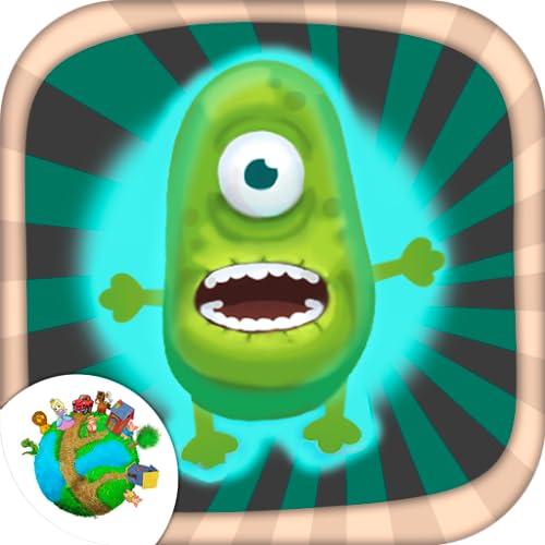 Crea monstruos y zombies  juego divertido para niños