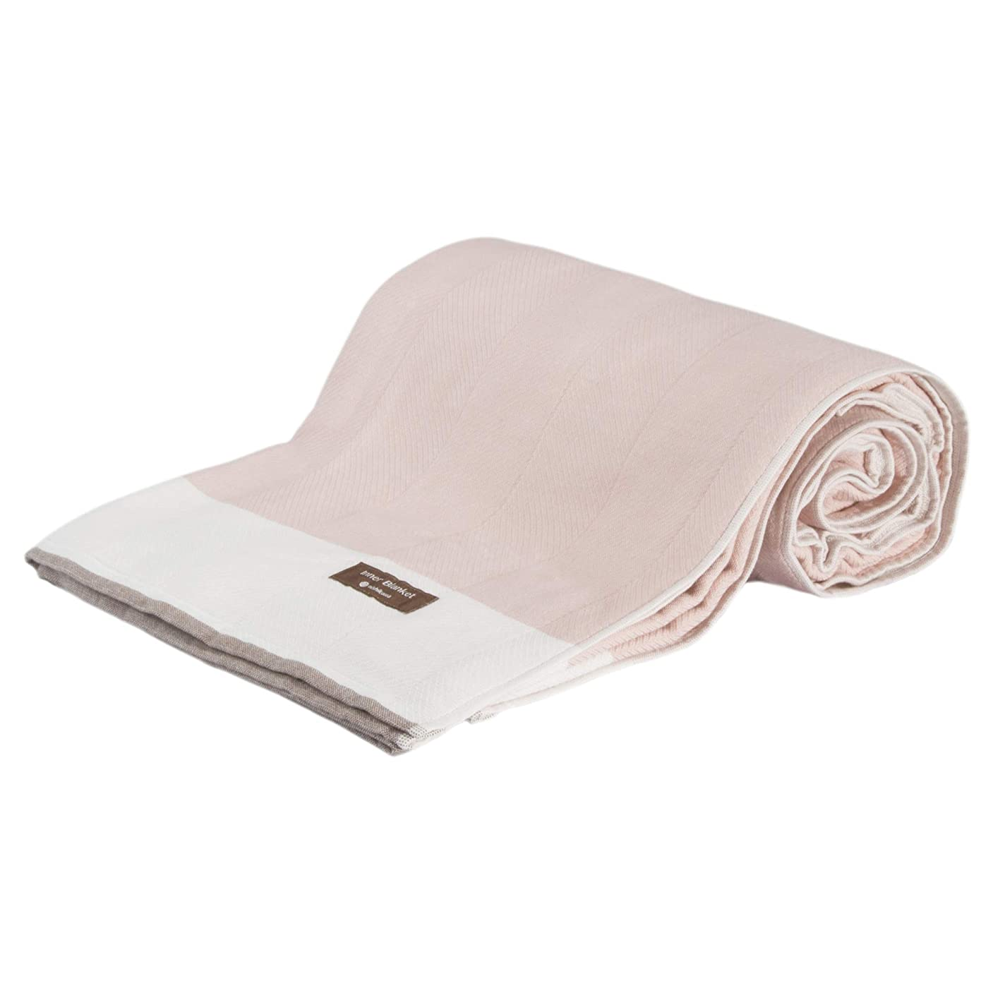 気候の山シャークール東京西川 毛布 (インナーブランケット) ピンク シングル 洗える 今治 日本製 コットン ウール混 なめらか やわらか RR09102011P