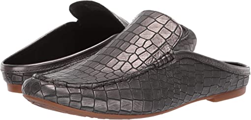 Pewter Croc Metallic
