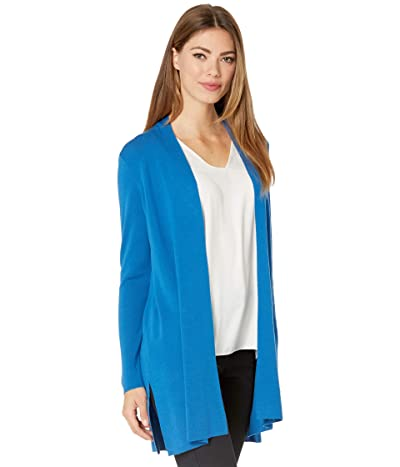 Eileen Fisher Long Cardigan (Marine) Women