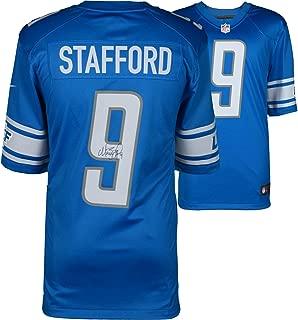 Matthew Stafford Detroit Lions Autographed Blue Nike Limited Jersey - Fanatics Authentic Certified - Autographed NFL Jerseys