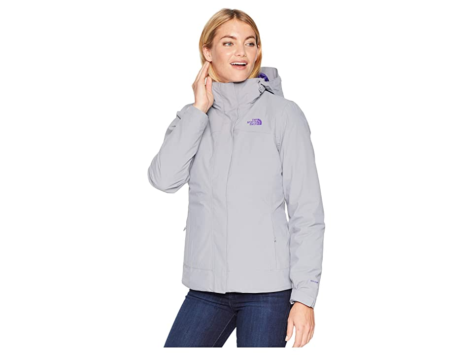 The North Face Carto Triclimate(r) Jacket (Mid Grey/Mid Grey) Women