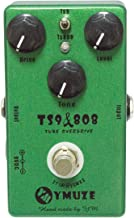 YMUZE Hand-made TS9 TS808 Tube Overdrive Guitar Effect Pedal True Bypass