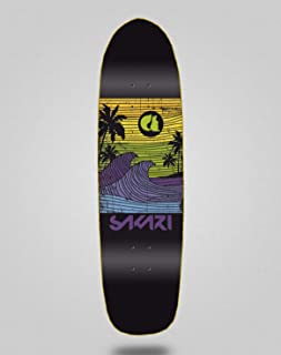 lordofbrands Pool Skate Skateboard monopatín Deck 8,5 Sakari Cali Dream Yellow