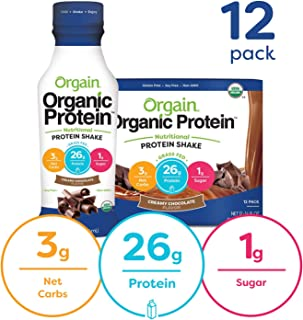 Best orgain chocolate protein shake Reviews
