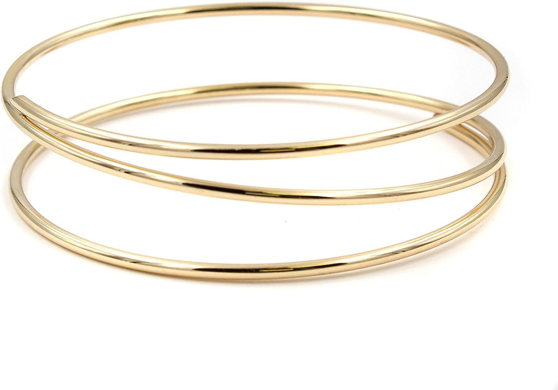 BCBGeneration Womens Layered Bangle Bracelet
