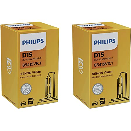 2x Philips Xenon Brenner Lampe D1s Vision 85v 35w Pk32d 2 85415vic1 Auto