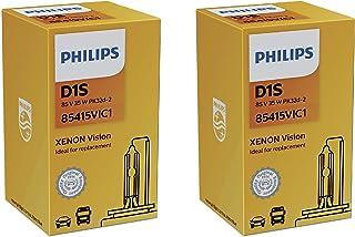 2x PHILIPS Xenon Brenner Lampe D1S VISION 85V 35W Pk32d 2 85415VIC1